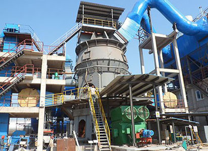 Bauxite grinding production line in Yangquan, Shanxi.
