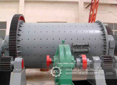 What kind of material could be processed by lattice type ball mill?