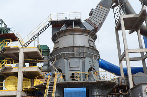 Coal Vertical Grinding Mill in Ningxia