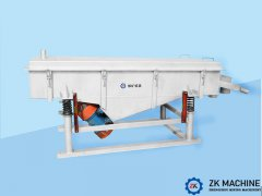Reasons for the Deviation of the Linear Vibrating Screen Material