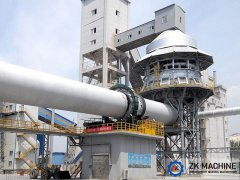Cooling Phase of Rotary Kiln for Active Lime Calcination